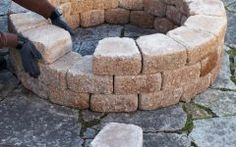 Making A Fire Pit With Bricks Build A Firepit