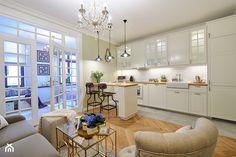 Klimatyczny Kazimierz - Średnia otwarta kuchnia jednorzędowa, styl prowansalski - zdjęcie od DreamHouse