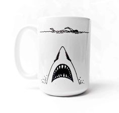 For the Jaws fan | Community Post: 32 Awesome Mugs Every Movie Lover Will Appreciate