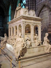 Tombs of Louis XII and Anne of Britanny