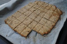 Simple Gluten free Vegan Crackers