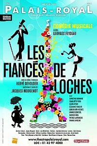 Les fiancés de Loches au Théâtre du Palais-Royal