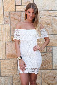 PRETTY LITTLE LACE DRESS , DRESSES, TOPS, BOTTOMS, JACKETS & JUMPERS, ACCESSORIES, SALE, PRE ORDER, NEW ARRIVALS, PLAYSUIT, COLOUR,,White,LA...