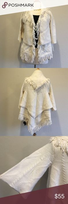 Anthropologie Sleep in snow wrap NWOT. Never been worn. Size XS. Anthropologie Sweaters