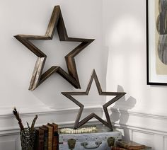 How to make wood stars. Requires precise angle cuts but shows how to do it.