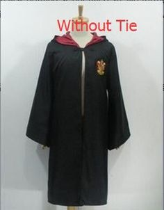 Harry Potter Cosplay Costume Adult Movie Hoodie Slytherin Robes Kids Men Women Gown Halloween Costumes Clothing
