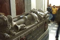 Sepulcro de D. Juan de Austria. Monasterio de San Lorenzo de El Escorial.