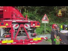 Vigili del Fuoco - Cremenaga (VA) - Soccorsi per incidente stradale - ww...