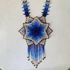 Arte Huichol Crochet Earrings, Etsy Seller, Create, Unique, Collar, Jewelry, Colors, Tent, Jewels