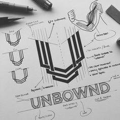 Geometric angles lines minimal - Logos Web Design, Icon Design, Logo Sketches, Brand Fonts, Logo Creation, Geometric Logo, Logo Concept, Identity Design, Brand Identity