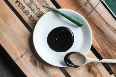 DIY Activated Charcoal Mask:   *  2 tsp Activated Charcoal   *  1 tsp Rosewater (or distilled water)   *  1 tsp Aloe Vera Gel (or lemon juice if you don't have aloe vera)