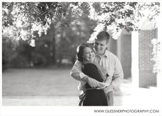 Lucas and Christina's fall engagement session at Old Salem | ©2013 Glessner Photography | Winston-Salem, NC