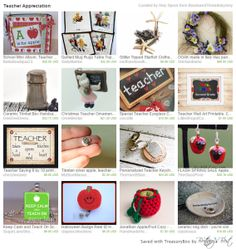 Teacher Appreciation Week May 4-8, 2015 | EtsyChristmasInJuly