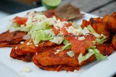 Enchiladas Michoacanas / blog La cocina mexicana de Pily  #recipe #mexicanfood #gastronomíamexicana