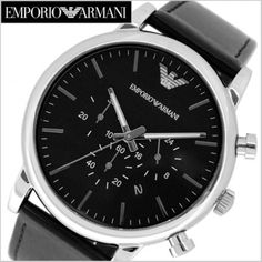 Emporio Armani Mens Watches, Omega Watch, Watches For Men, Black, Top Mens Watches, Black People, Men's Watches, Men Watches