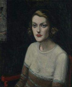 Agnes Goodsir (1864 –1939) ' Portrait of Sunday Baillieu Quinn (Sunday Reed), Paris' 1929