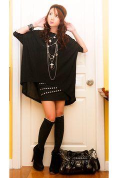 Black is my favorite wardrobe piece