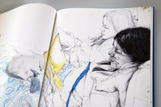 James Jean - His ink work is amazing. This is his personal site with LOTS of photos of his work.