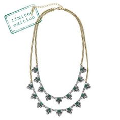 Jardins du Trocadero Two-Row Necklace. Lovely! Limited Edition. Shop today at www.chloeandisabel.com/boutique/lisab!