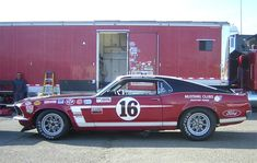 1969 Ford Mustang BOSS 302 #16 George Follmer