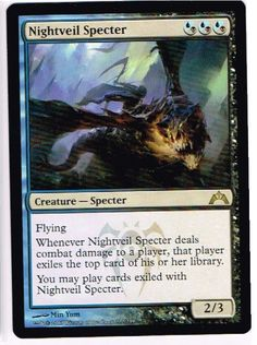 Magic the Gathering MTG x1 Rare Nightveil Specter Gatecrash