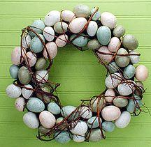classic spring wreath.