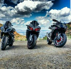 Great shot! Real bikes! I need 2 more of you because yes we ride! All 3!