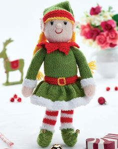 Free Knitting Pattern For Elves : Bernard the Elf by Zoe Halstead - free from Lets Knit ...
