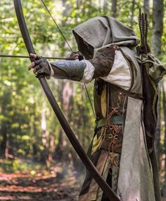The Lord of the Rings: Aragorn Ranger Bow - Fantasy Aesthetics, Medieval Clothing & Larp Costume Ideas