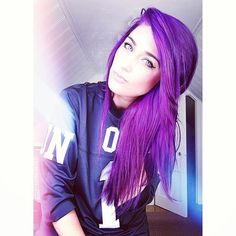 dolls kill, purple hair, on 1 jersey, unif Purple Hair, Ombre Hair, Down Hairstyles, Straight Hairstyles, Let Your Hair Down, Pinterest Hair, Dye My Hair, How To Make Hair, Hair Tools