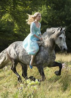 Here's a first-look at the Disney live-action #Cinderella coming to theaters in 2015! Click for more details.