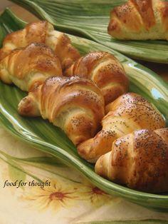 Food for thought: Κρουασάν με Κάρδαμο και Παπαρουνόσπορο