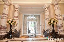 Lobby at the Langham Hotel London