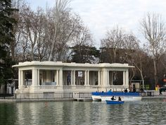 Retiro Pier in Madrid