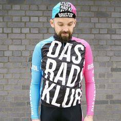 Das Rad Klub #cycling #kit #typography