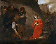 The Martyrdom Of St Stephen  Bernardo Cavallino