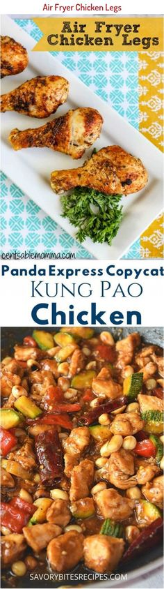 Cook a healthier version of fried chicken with this Air Fryer Chicken Legs recipe with a perfect blend of seasoning and a crispy exterior. So yummy! #recipes #airfryer #dinner #chicken Air Fryer Chicken Leg Recipe, Chicken Leg Recipes, Chicken Legs, Recipe Chicken, Kung Pao Chicken, Fried Chicken, Quick Recipes, Yummy Recipes, Cardamon Recipes