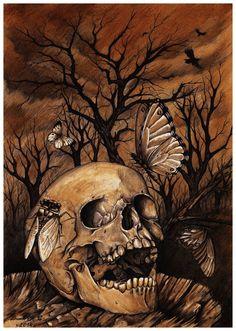 Autumnal Melancholy by Derek-Castro