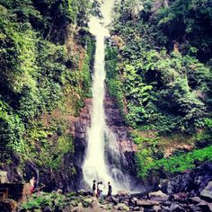 Gitgit Waterfall in Singaraja, Bali
