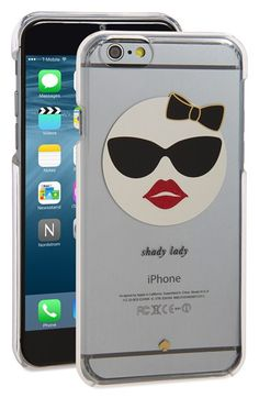 Free shipping and returns on kate spade new york 'shady lady' iPhone 6 & 6s…