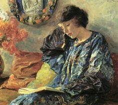 Guy Orlando Rose (American painter, 1867-1925) Margurite 1918