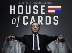 Kevin Spacey as Francis Underwood in House of Cards on Netflix. FANTASTIC show.