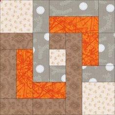 Free Quilt Pattern: August Beginner BOM