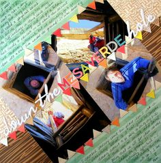 Jazz up Favorite Scrapbook Layout Designs by Putting them On An Angle | Katie Scott | Get It Scrapped