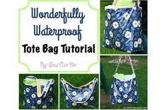 Tutorial: Wonderfully Waterproof Tote Bag