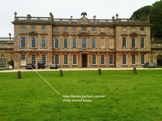Our Rep informs us that this is his second home and he can prove it because his cars in the picture but actually it's Dyrham Hall and it's definately owned by the National Trust so he's wrong!