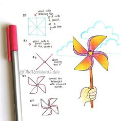 With heaps of how-tos and tips ❤ ✉… Zen Doodle, Doodle Art, Doodle Drawings, Easy Drawings, Drawing Notepad, Planner Doodles, Bujo Doodles, Art Journal Prompts, Daily Journal