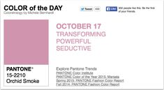 APPart – Mobile Art – Pantone Color of the Day – 'Orchid Smoke' – TheAppWhisperer