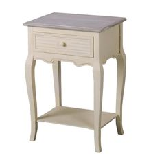 Shorehaven 1 Drawer Bedside Table Beachcrest Home Cube Side Table, Round Side Table, 3 Drawer Bedside Table, Homestead Living, Hazelwood Home, Distressed Furniture, Home Additions, Provence, Modern