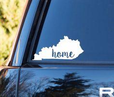 Kentucky Home Decal | Kentucky State Decal | Homestate Decals | Love Sticker | Love Decal | Car Decal | Car Stickers | Bumper | 109
